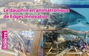 Détails techniques du dauphin robot de Edges Innovation