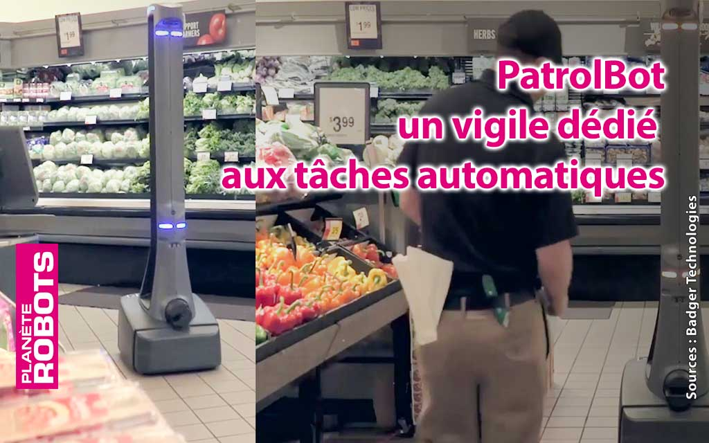 PatrolBot de Badger Technologies