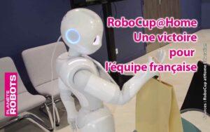 l'équipe française remporte une victoire à la RoboCup@Home