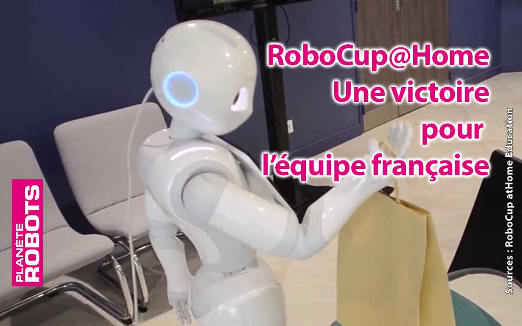 RoboBreizh remporte une victoire à la RoboCup@Home