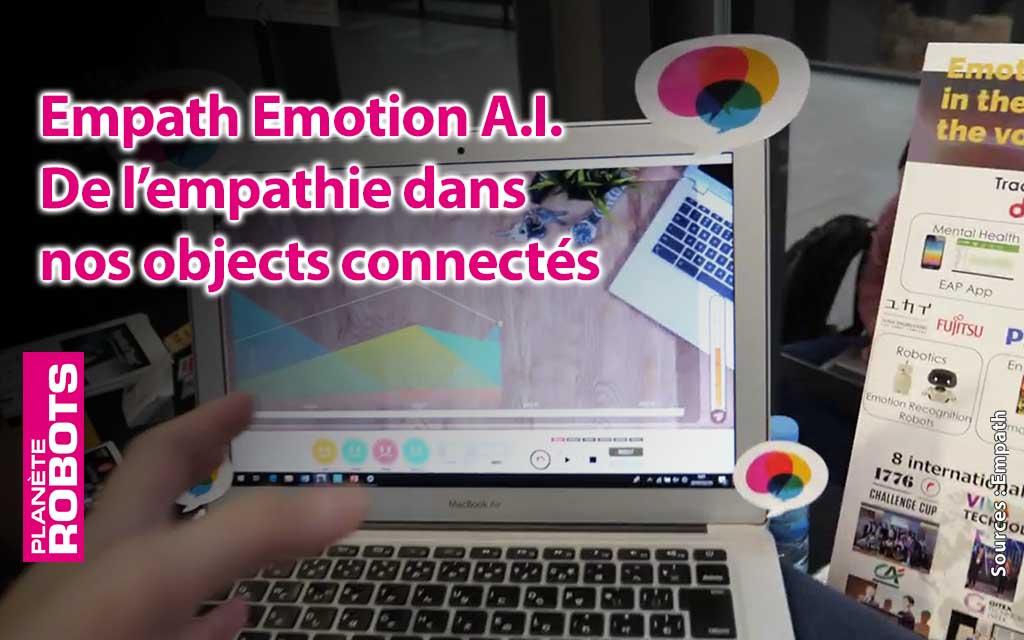 Un futur avec des équipements électroniques empathiques grâce à l'I.A.