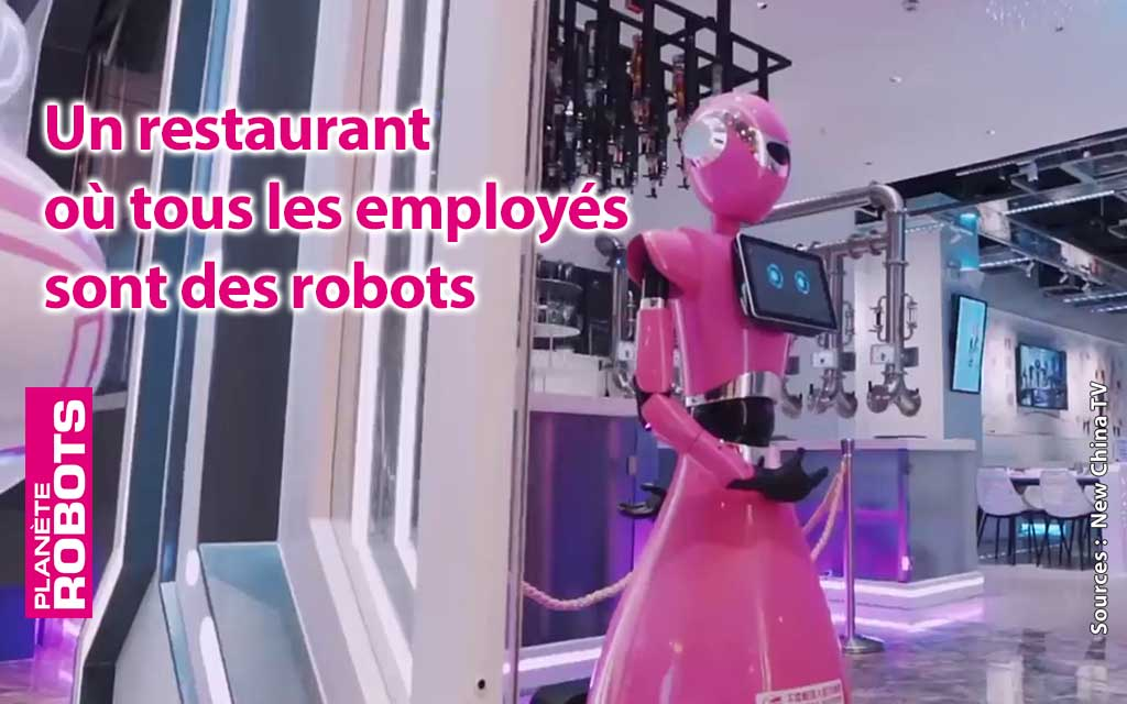 Un restaurant chinois fonctionne avec 100% de ses employés robots