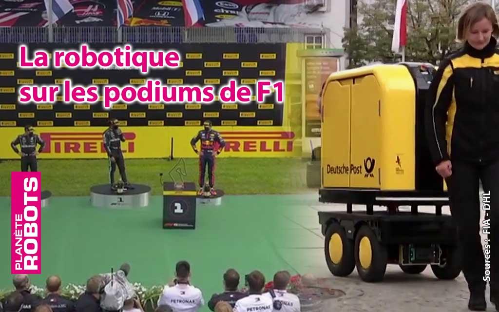 Des robots sur les podiums de F1