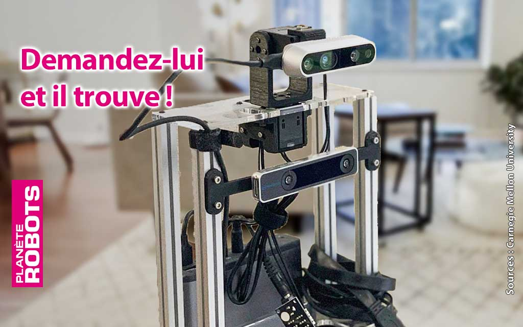 Ce robot trouve tous vos objets dans votre maison grâce à la navigation sémantique