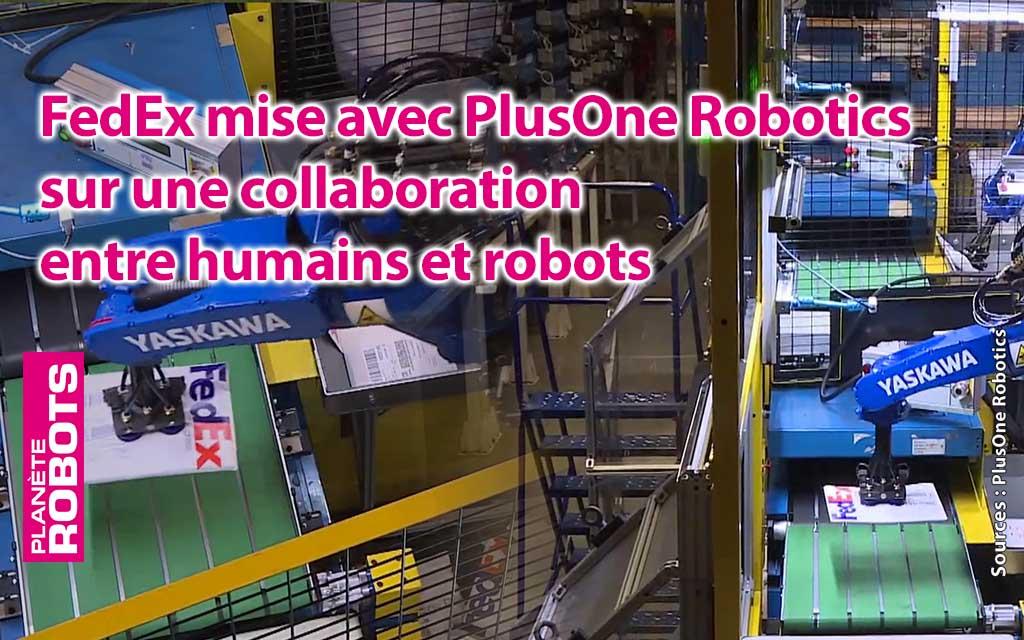Les robots de chez PlusOneRobotics en plein travail
