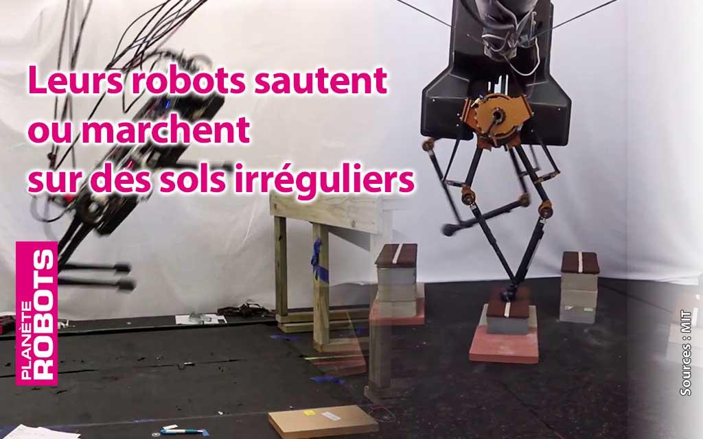 Ils travaillent sur les jambes des robots du futur