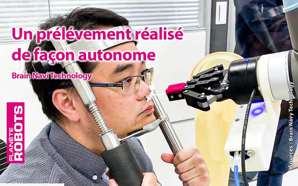La précision des robots de neurochirurgie au service de la lutte contre le coronavirus