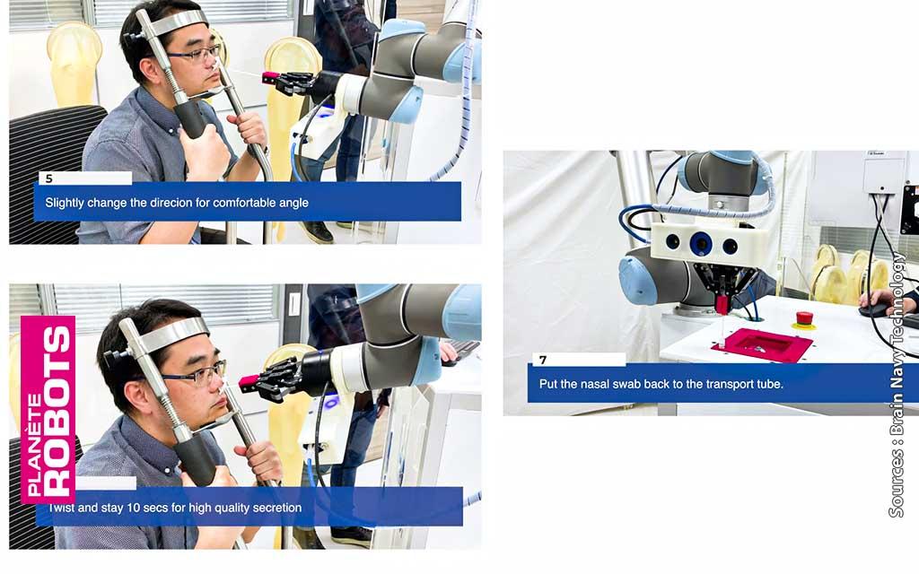 Les 3 dernières étapes du robot de prélèvement autonome de Navi Technology