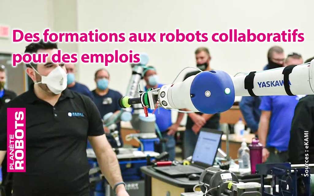 Les compétences en robotique collaborative enseignées pour combattre le chômage