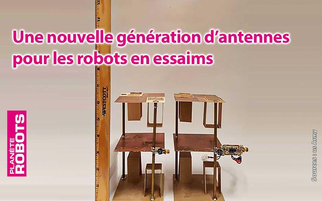 Un nouveau type d'antennes pour les robots en essaim