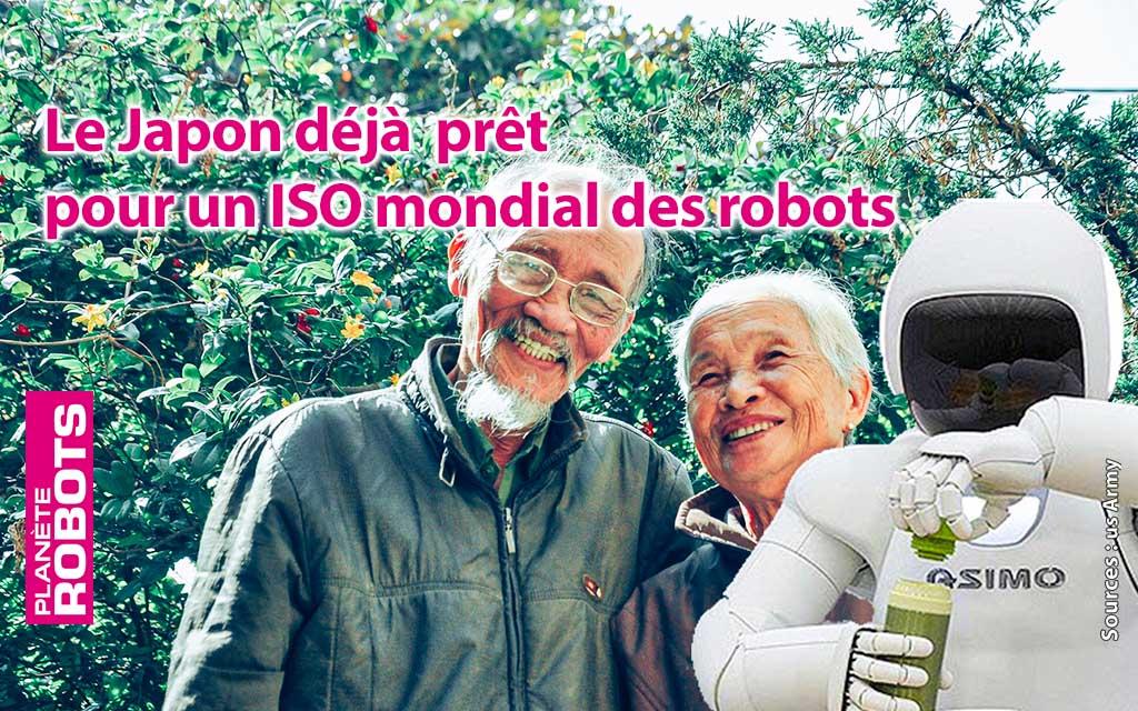 Un ISO pour les robots d'assistance aux personnes âgées