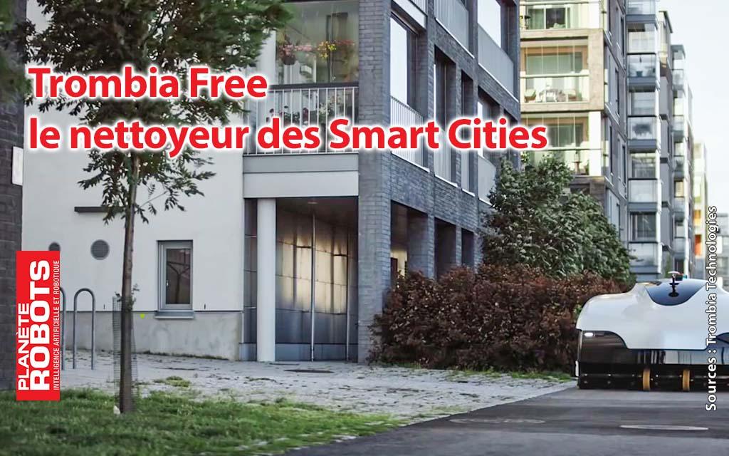 Trombia Free, l'aspirateur des rues et des trottoirs