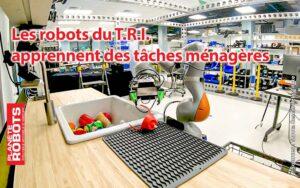 Les robots du TRI en Californie apprennent à nettoyer de la vaisselle