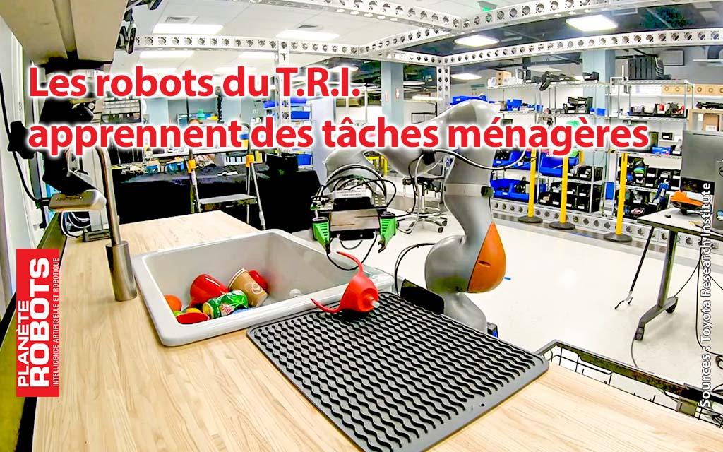 Des robots qui pourront gérer les tâches ménagères