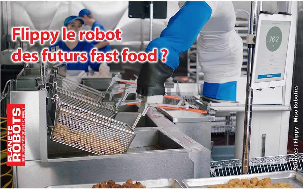 Flippy le robot pour fast-food en location