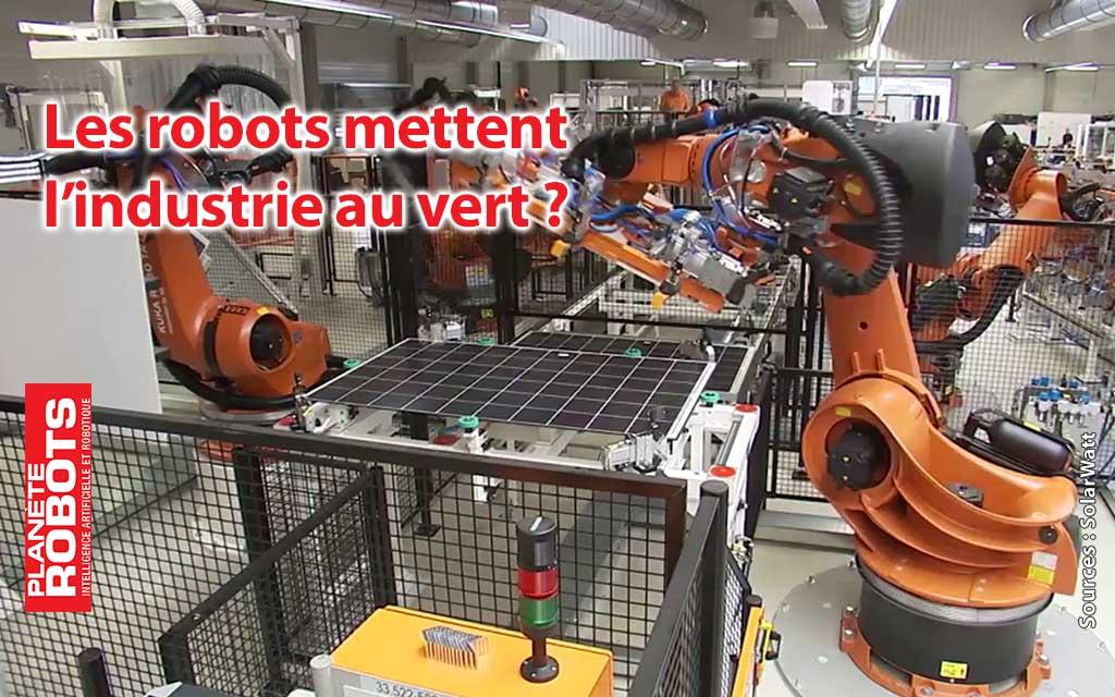 Plus de robots, plus de vert dans les zones industrielles ?