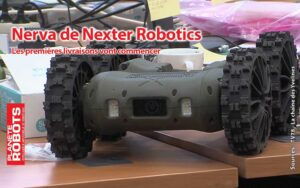 Le robot à quatre roues de Nexter Robotics
