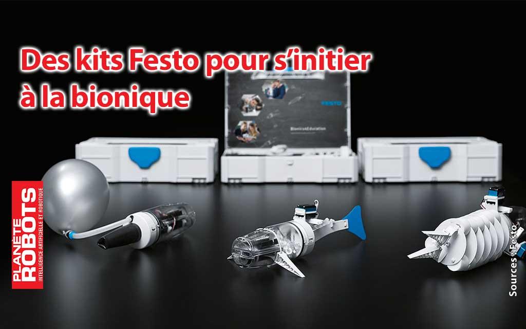 Apprenez la bionique avec les kits éducatifs Festo