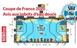 Le thème de la coupe de France de Robotique 2020