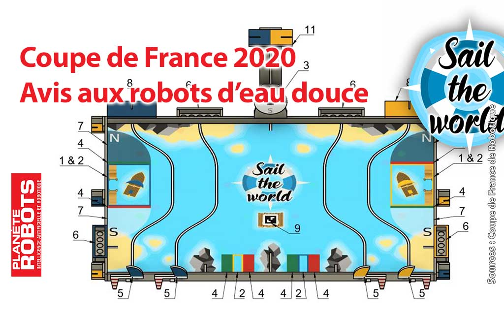 La coupe de France de robotique 2020