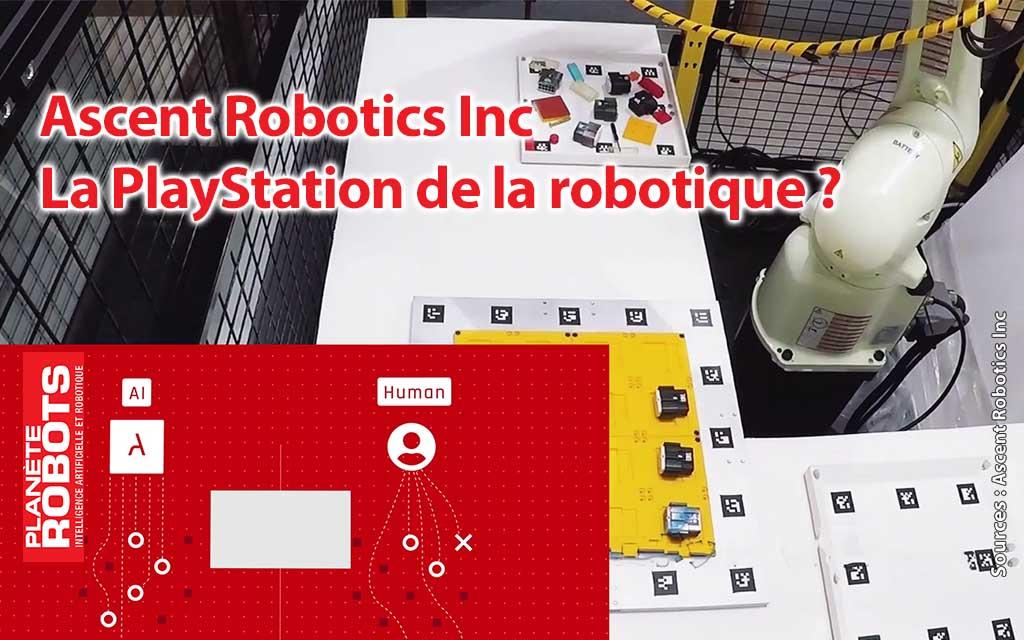 Un robot de ascent en apprentissage