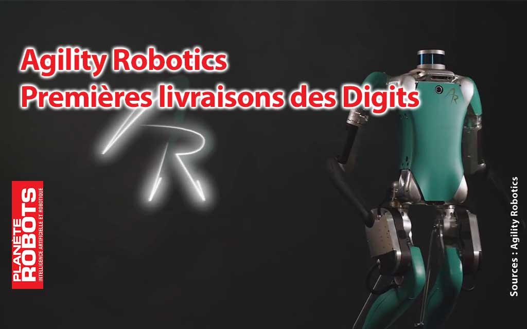 Agility Robotics commence les premières livraisons