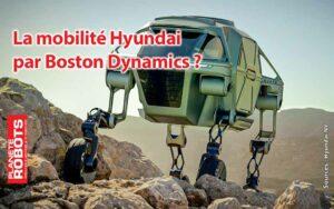 Le concept de vehicule robotisé Elevate dévoilé en 2019 par Hyundai