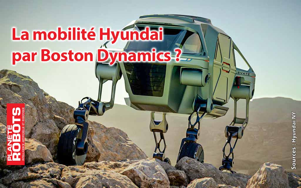 Boston Dynamics rachetée par Hyundai ?