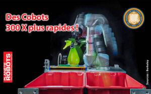 Cobots et Deep Learning plus de vitesse