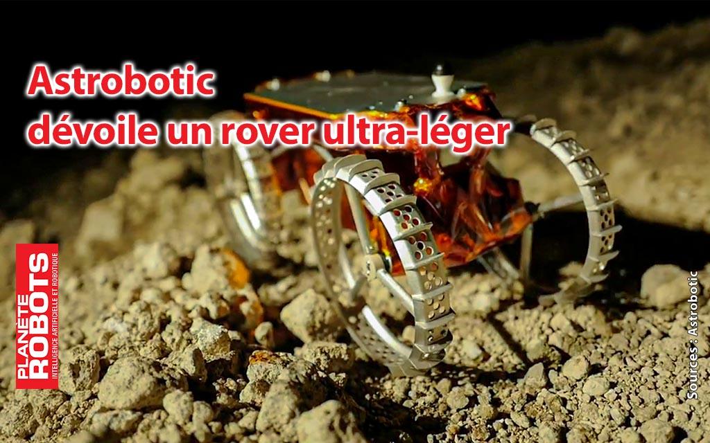 CubeRover d'Astrobotic, le rover ultra-léger