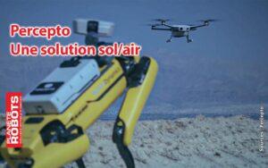 Percepto la solution de surveillance Sol/air