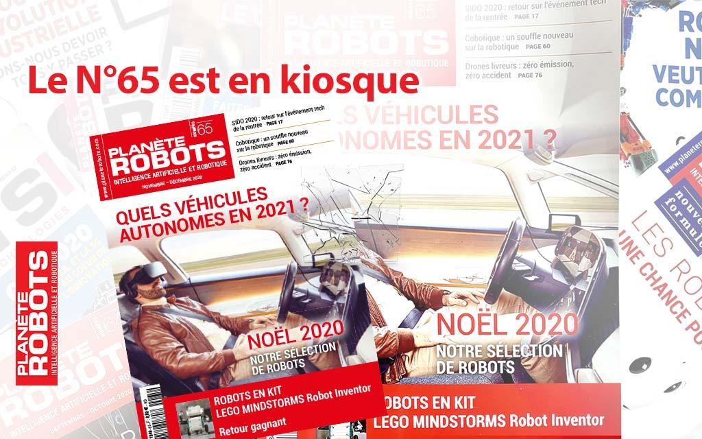 Sommaire du Planète Robots N°65 en kiosque