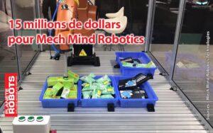 Un robot de chez MechMind s'occupe de commandes
