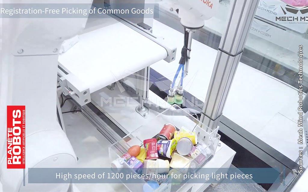 MechMind Robotics automatise des tâches humaines