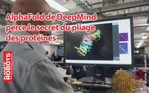 Un développeur contemple un pliage de molécule