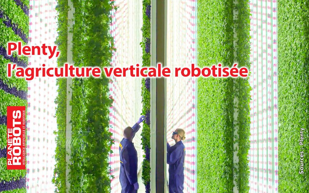 Plenty, une des solutions de fermes du futur ?