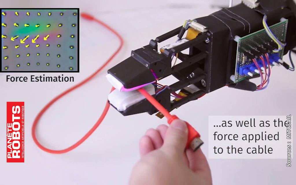Une technologie permettant aux robot d'attraper des câbles