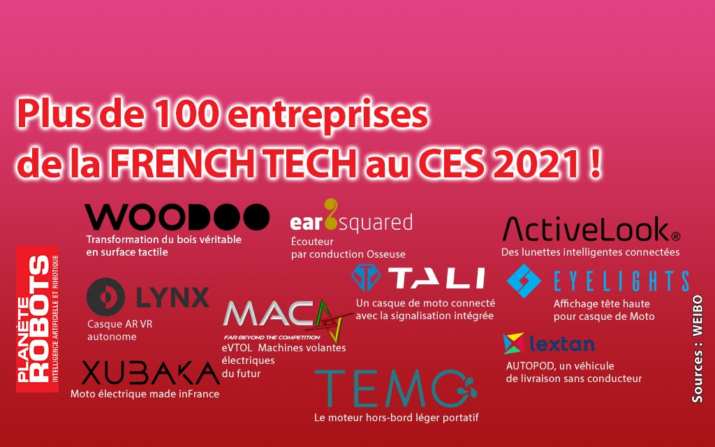 La FRENCH TECH au CES 2021