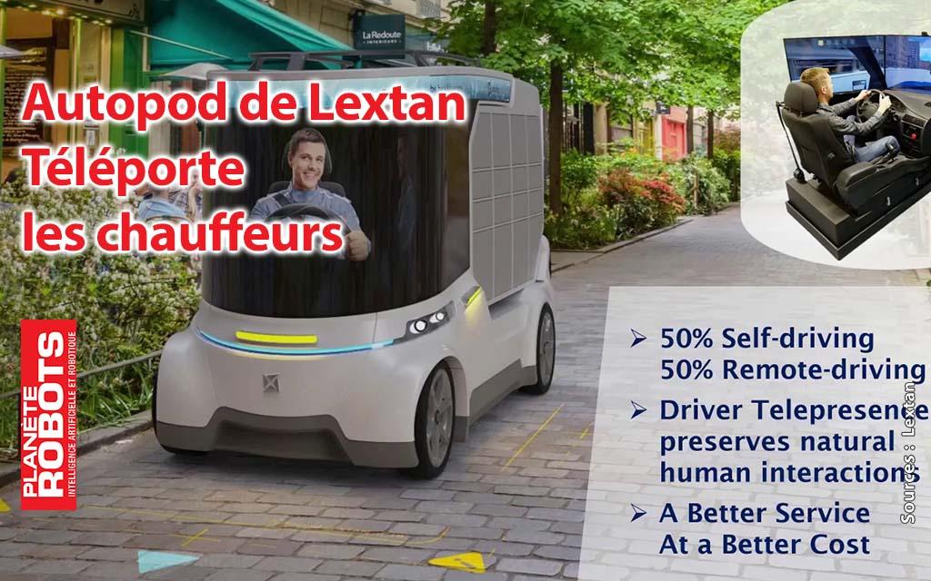 Autopod de Lexant invente la téléportation du chauffeur