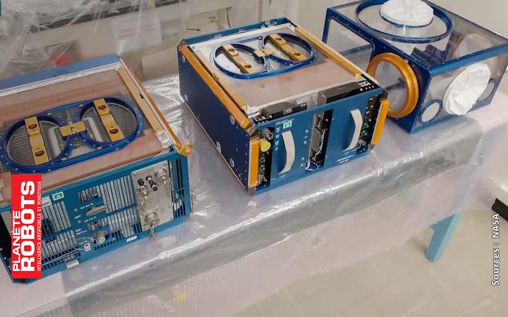 Expérimentations spatiales faites sur l'ISS