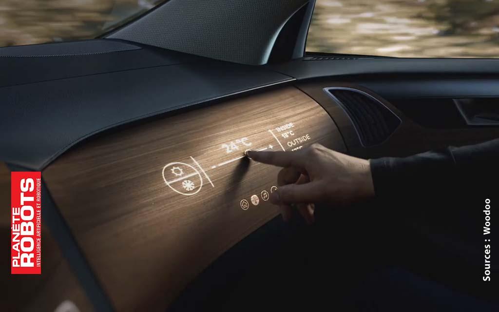 Woodoo innove dans les matériaux interactifs comme le bois