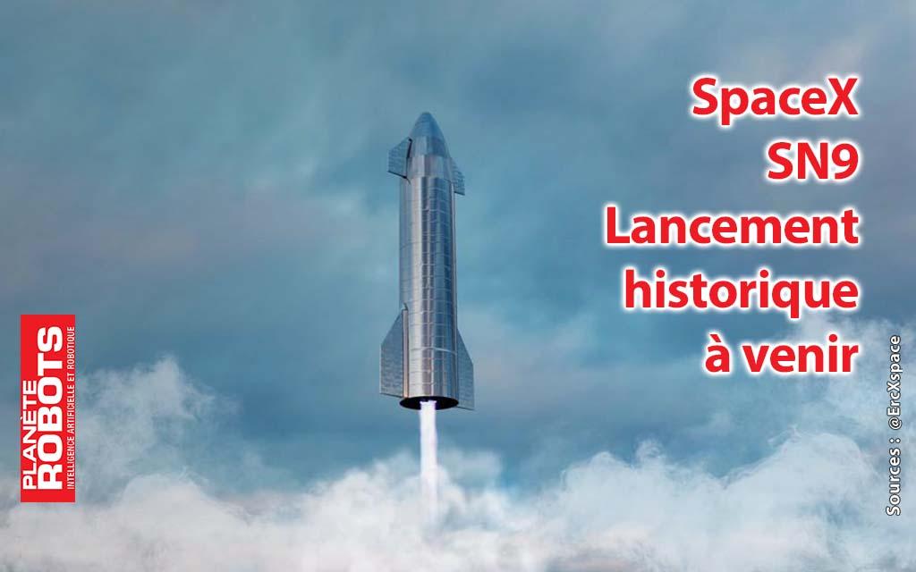 SpaceX, le vol de Starship 9 prévu à partir de vendredi