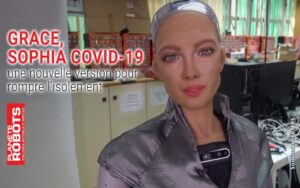 Grace, Sophia Covid-19 son concepteur s'apprête à la produire en masse