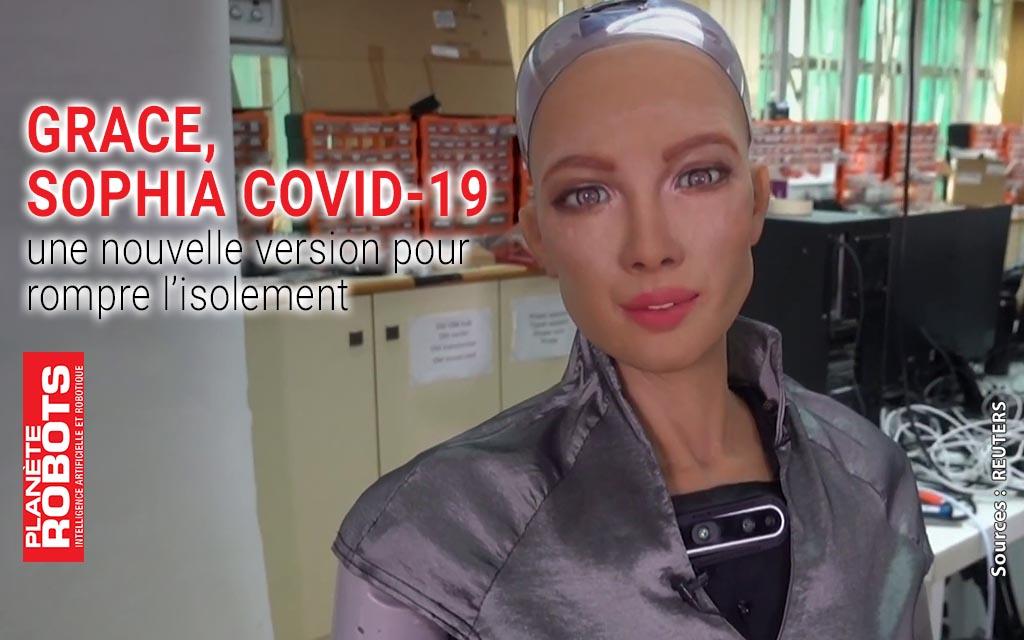 Grace, une version de Sophia spéciale COVID-19