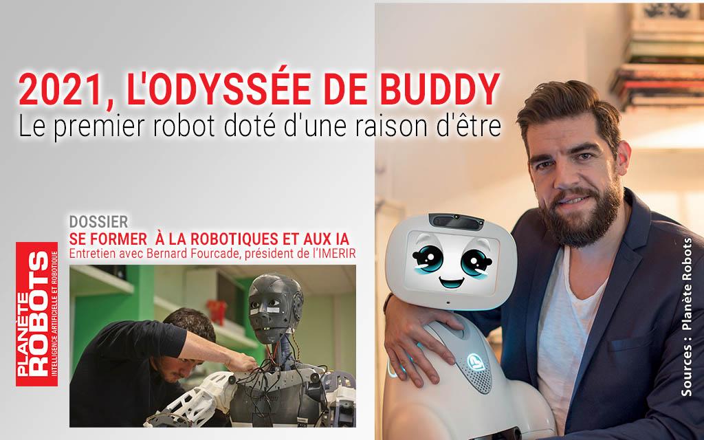 Buddy en couverture du Planète Robots N°66