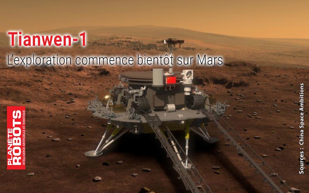 Tianwen-1 une sonde chinoise sur Mars