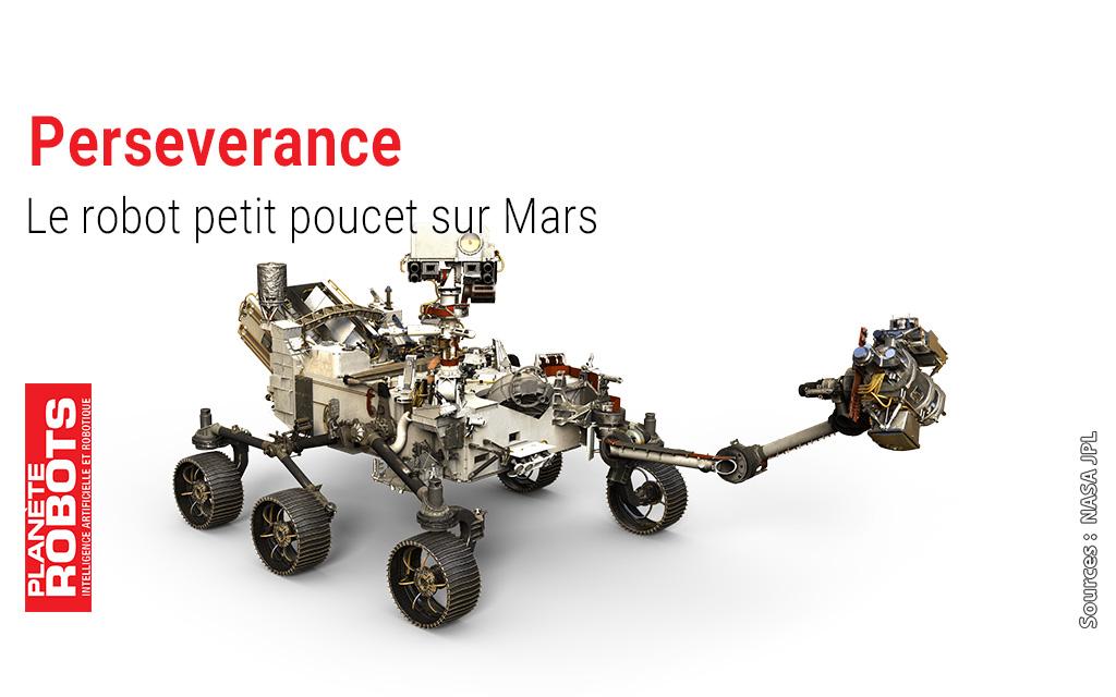 Perseverance un petit poucet géologue sur Mars