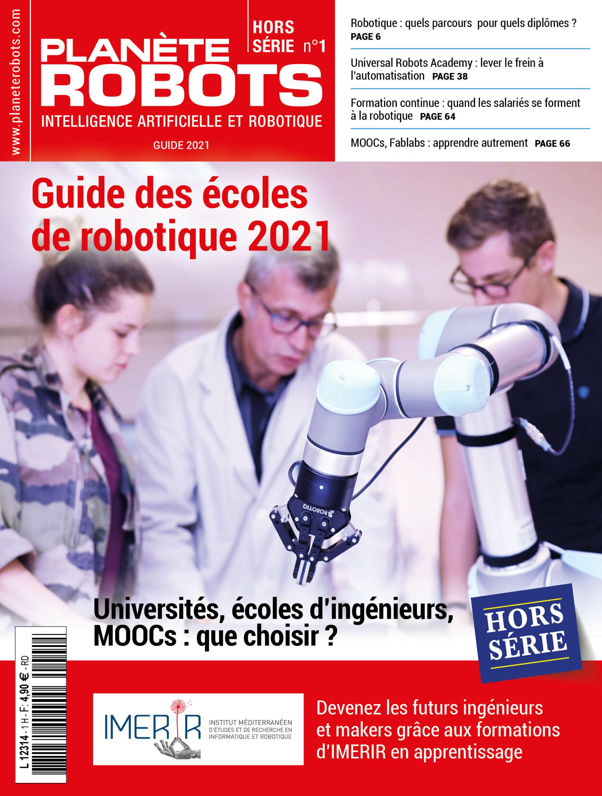 premier Guide des écoles de robotique de Planète Robots
