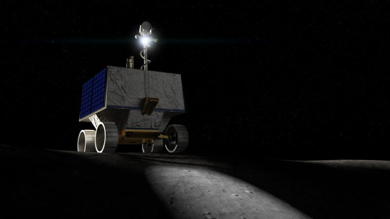 Le robot Viper va chercher de l'eau sur la lune