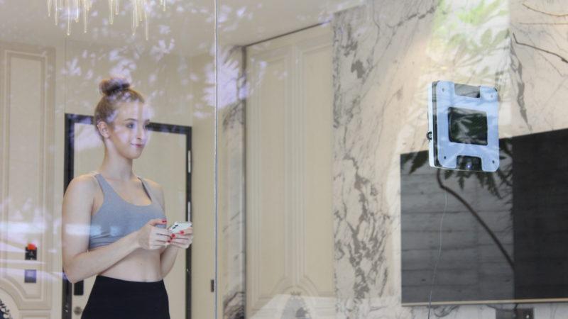 Hobot, le laveur de vitres qui imite le souffle humain